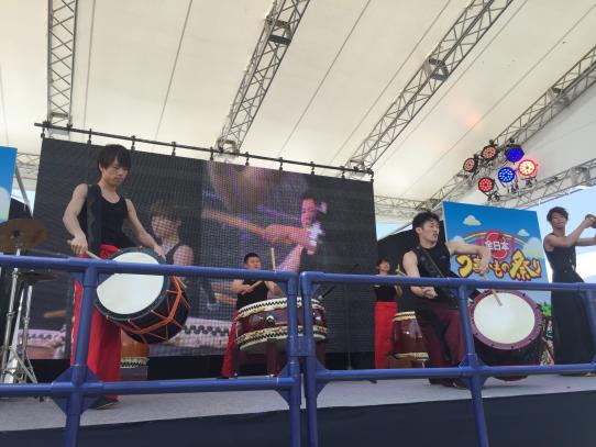 全日本うまいもの祭り2016に本学「和太鼓クラブ AGU丸座」が出演します