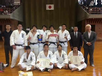 柔道部が「第63回 東海学生柔道夏季優勝大会」にて3位の成績を収めました