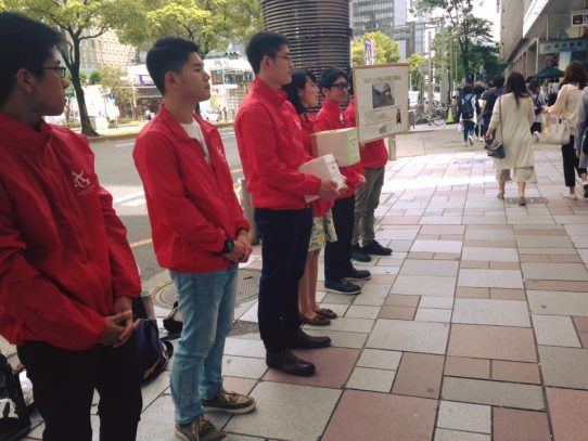 【AGUボランティアセンター】「平成28年熊本地震義援金」募金活動の報告