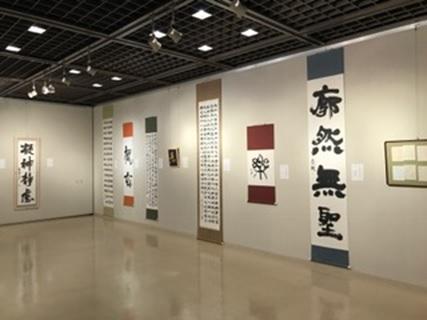 【書道部】「第26回 愛学院書展」を開催しました