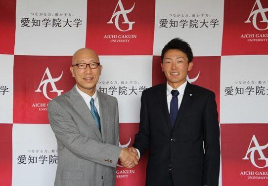【西武ライオンズ3位指名】源田壮亮選手が指名挨拶のために来学
