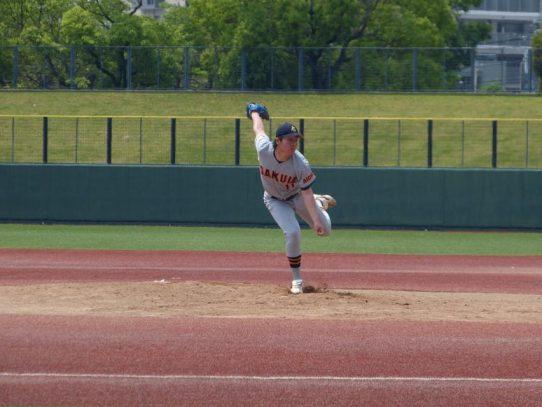 【硬式野球部】愛知大学野球春季リーグ戦最終戦 愛知大に勝ち越して1部4位確定