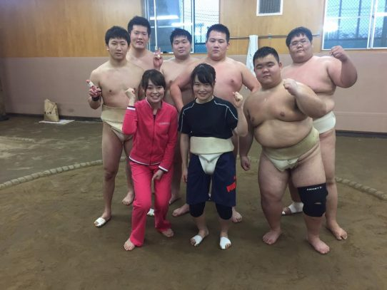 【相撲部】NHK名古屋放送局「ほっとイブニング」に佐野清香さんが出演しました!