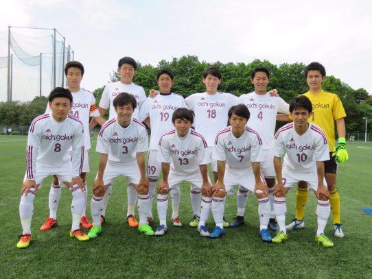 【サッカー部】第56回東海学生サッカーリーグ第5節 vs中京大学(5/7)