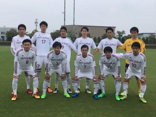 【サッカー部】第56回東海学生サッカーリーグ第6節 vs静岡産業大学(5/13)