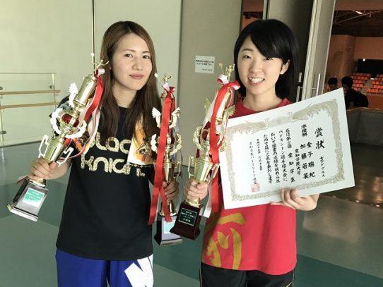 【バドミントン競技部】第65回愛知学生バドミントン選手権大会で加藤若菜さんが女子シングルス優勝!