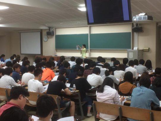 平成29年度 第1回 「学生のための安全管理講習会」を実施しました