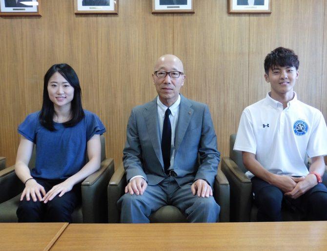 2020年東京オリンピック・パラリンピックあいち選手強化事業における強化指定選手に本学より2名認定されました
