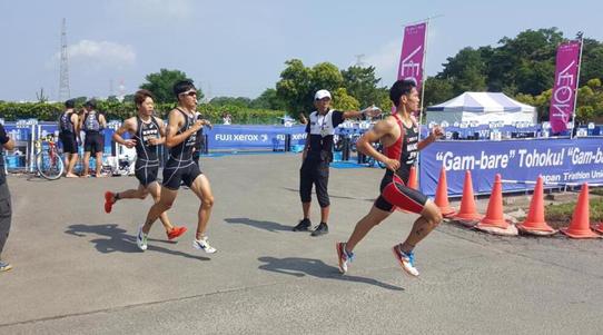 【陸上競技部】水野泉之助さんが第19回日本U19トライアスロン選手権で9位