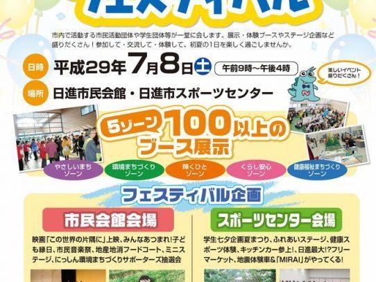 【AGUボランティアセンター】日進わいわいフェスティバルでのボランティア活動報告