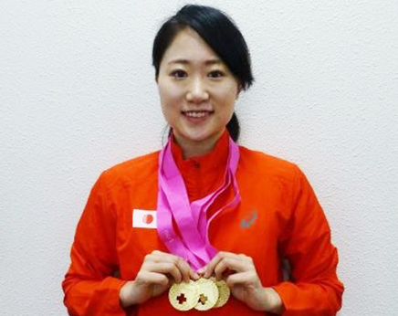 【水泳部】吉田萌さんがスイスオープン(シンクロナイズドスイミング)で優勝