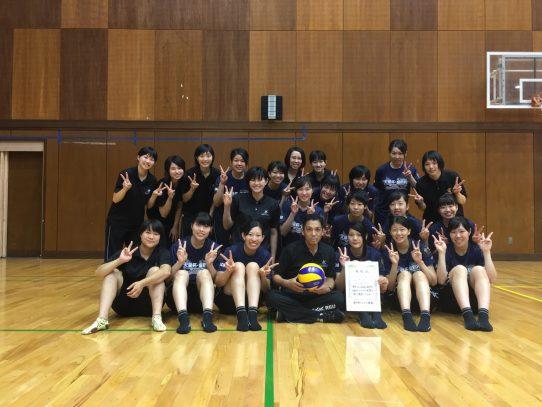 【バレーボール部(女子)】天皇杯・皇后杯愛知県ラウンドで優勝!