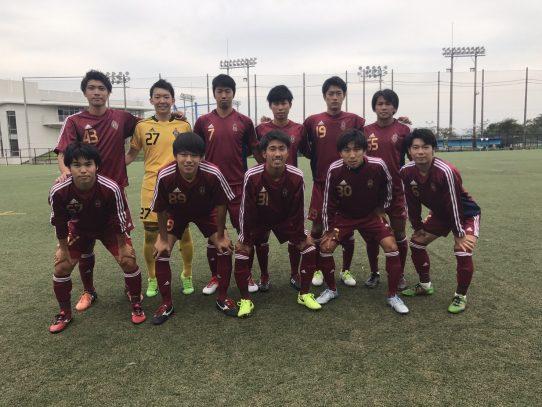 【サッカー部】Independence Leauge 2017【東海】(B1 FINAL)  VS中京大学U21