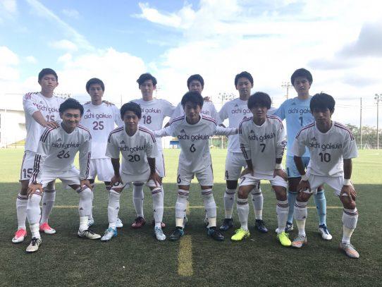 【サッカー部】第56回東海学生サッカーリーグ第14節 vs静岡大学(9/23)