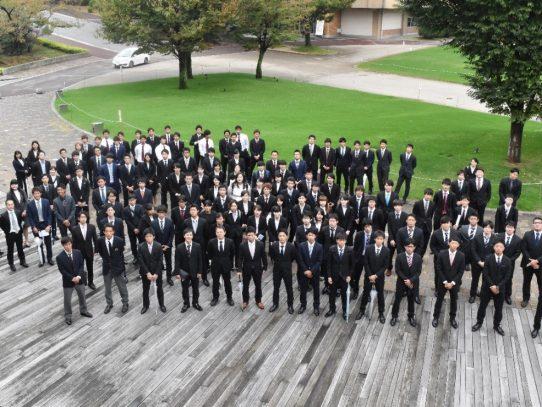 愛知学院大学創立141周年記念式典でクラブ表彰が行なわれました