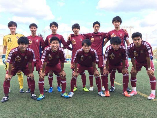 【サッカー部】Independence Leauge 2017【東海】(B2 FINAL) VS中京大学