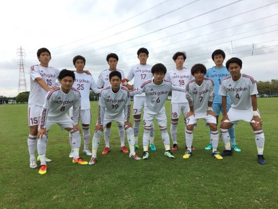 【サッカー部】第56回東海学生サッカーリーグ第17節 vs岐阜経済大学(10/14)