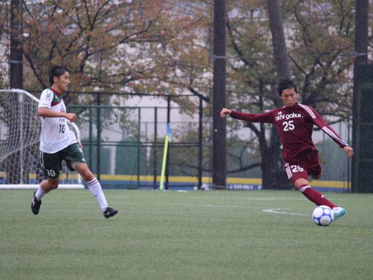 【サッカー部】第56回東海学生サッカーリーグ第18節 vs常葉大学浜松キャンパス (10/21)