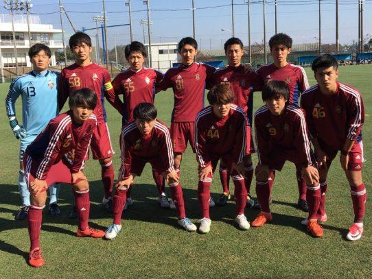 【サッカー部】Independence Leauge 2017【東海】(B2 FINAL) VS静岡産業大学B