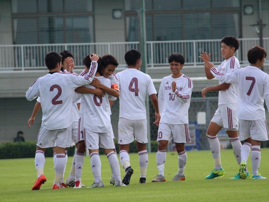 【サッカー部】第56回東海学生サッカーリーグ第20節 vs 中京大学(11/4)