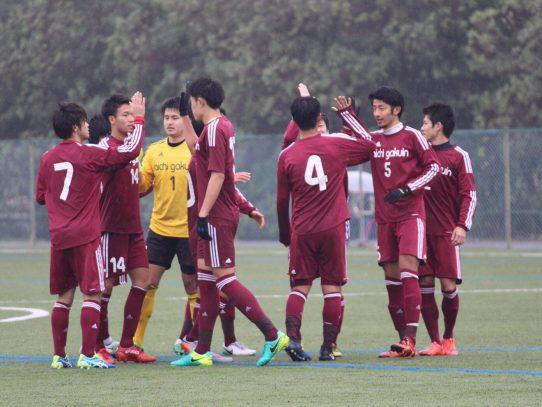 【サッカー部】第56回東海学生サッカーリーグ第22節 vs 名古屋経済大学(11/18)