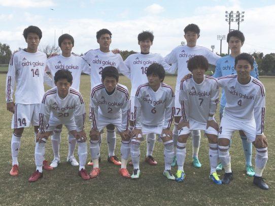 【サッカー部】第56回東海学生サッカーリーグ第21節 vs 東海学園大学(11/11)