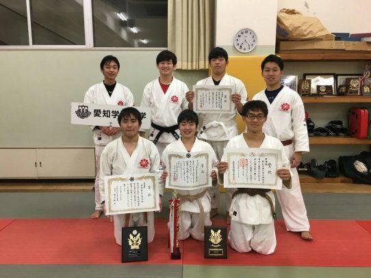 【日本拳法部】第52回中部日本学生拳法新人戦大会(団体戦)に出場 準優勝の結果をおさめました
