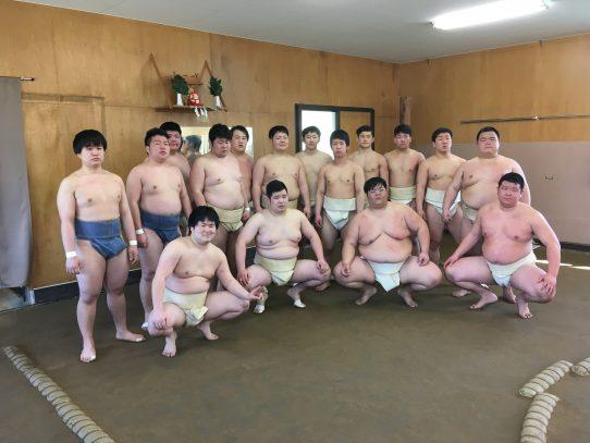 【相撲部】関学大、龍谷大と本学で合宿