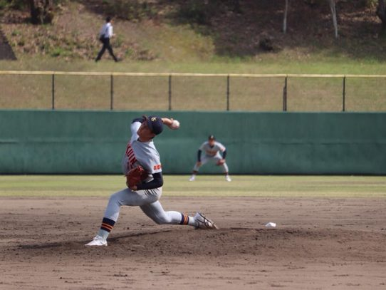 【硬式野球部】平成30年度春季リーグ戦 第2戦 VS中京大学