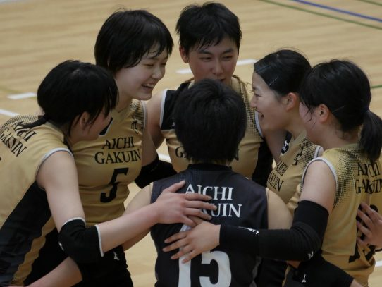 【バレーボール部(女子)】東海大学バレーボールリーグ戦春季大会 前半戦結果