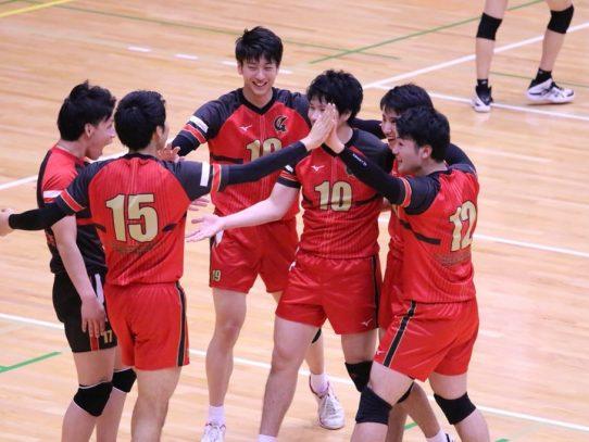 【バレーボール部(男子)】東海大学バレーボールリーグ戦 春季大会 vs中京大学