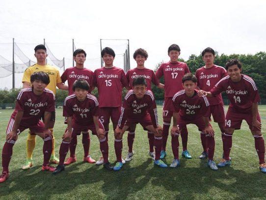 【サッカー部】東海リーグ戦第3節 VS名城大学