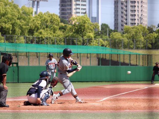 【硬式野球部】平成30年度春季リーグ戦第3戦 VS愛知大学