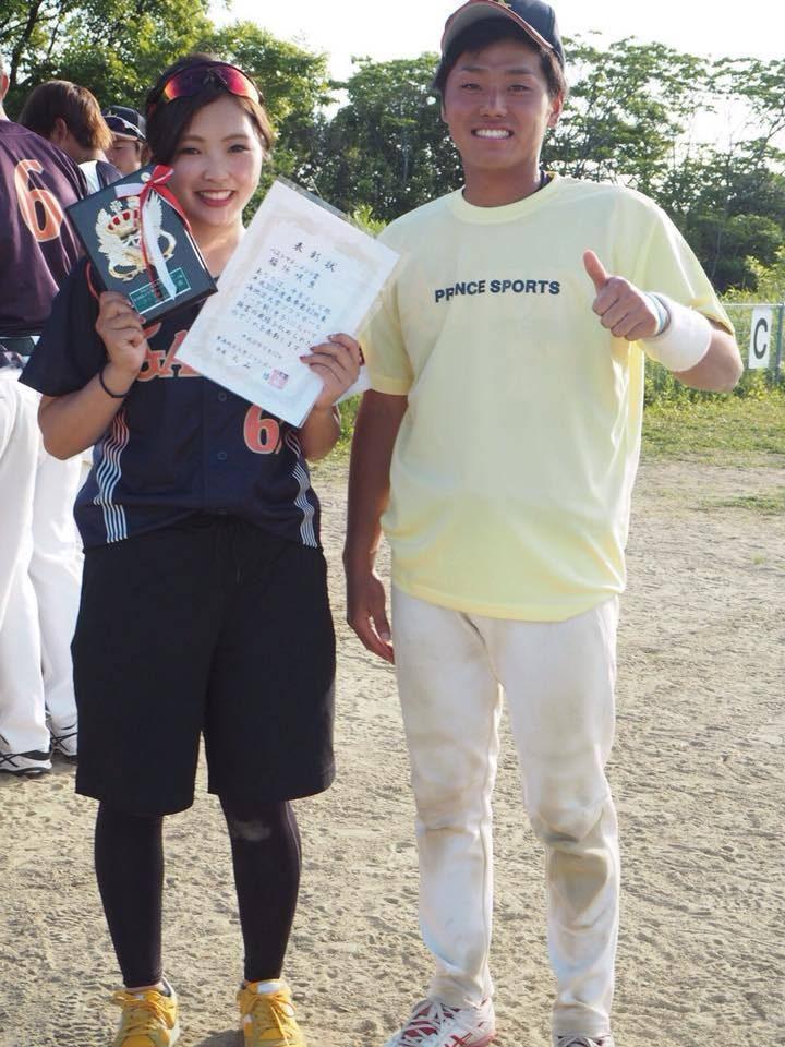 【ソフトボール部】第82回東海地区大学男子ソフトボールリーグ戦で久保朋也さんがベスト10、稲垣咲良さんがベストマネジメント賞を獲得
