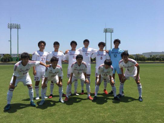 【サッカー部】東海学生サッカーリーグ戦第6節 VS静岡大学