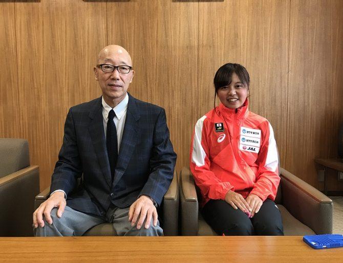 【陸上競技部】2020年東京オリンピック・パラリンピックあいち選手強化事業 強化指定選手に松居智咲さんが選出されました