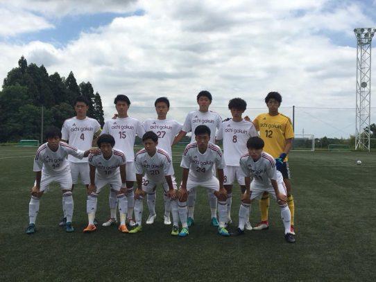 【サッカー部】東海学生サッカーリーグ戦 第7節 VS東海学園大学