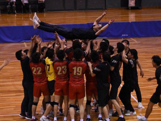 【バレーボール部(男子)】第44回西日本バレーボール大学男子選手権大会 優勝!!