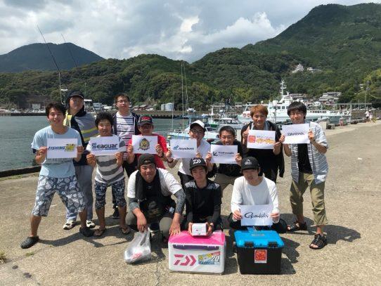 【アウトドアフィッシングクラブ】全日本学生釣魚連盟 中部支部主催「平成30年度尾鷲海釣り大会」の報告