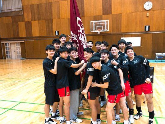 【バレーボール部(男子)】東海大学バレーボールリーグ戦 秋季大会 朝日大学戦