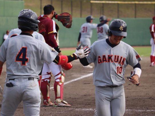 【硬式野球部】秋季リーグ戦第3週 対 名城大学