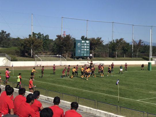 【ラグビー部】東海学生ラグビーリーグ第5戦 VS中部大学