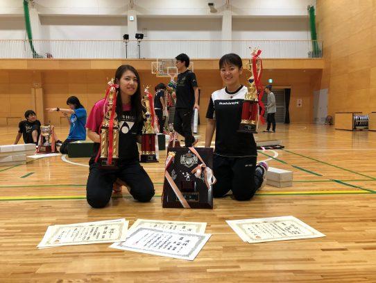 【バドミントン競技部】第40回東海新人バドミントン選手権 女子シングルス準優勝!!