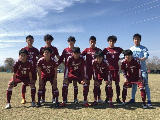 【サッカー部】2019年度 東海学生サッカーリーグ戦第2節!! VS四日市大学