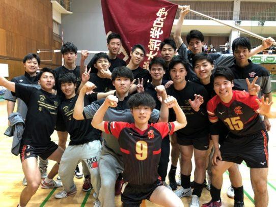 【バレーボール部(男子)】東海大学バレーボールリーグ戦  春季大会  名城大学戦