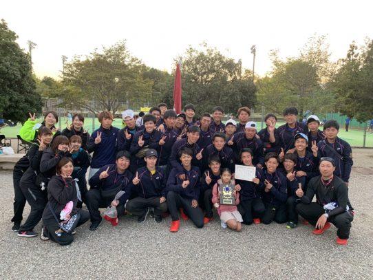 【ソフトテニス部】平成31年度東海学生ソフトテニス大学対抗リーグ戦大会において優勝!