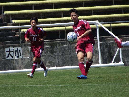 【サッカー部】2019年度 東海学生サッカーリーグ戦第7節 vs中部大学