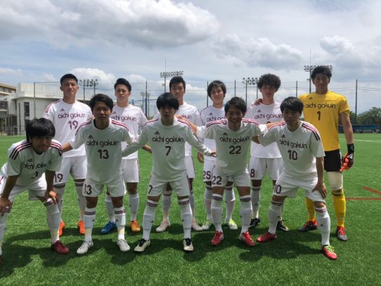 【サッカー部】2019年度 東海学生サッカーリーグ戦第8節 vs名古屋学院大学