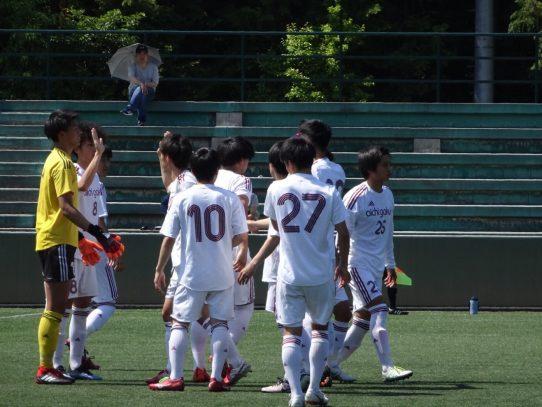 【サッカー部】2019年度 東海学生サッカーリーグ戦第9節 vs愛知学泉大学