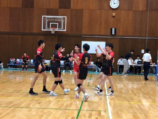 【バレーボール部(男子)】東海大学バレーボールリーグ戦 春季大会  中京大学戦